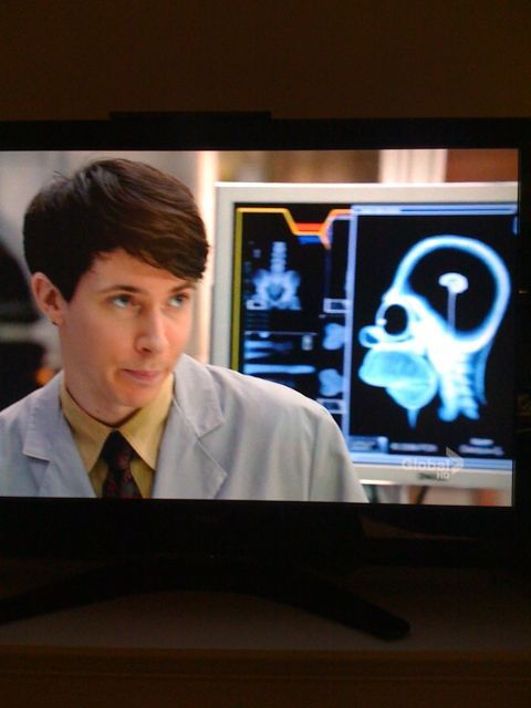 Homer Simpson guest appearance on Bones Nov 11