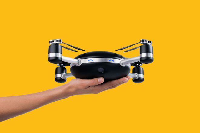 Throw This Camera Drone in the Air and It Flies Itself | WIRED